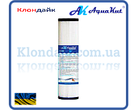 """AquaKut Картридж полиэстровый многоразовый FCCEL 10"""" 2 1/2"""" 5мкм"""