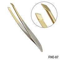 Пинцет для коррекции бровей Lady Victory (с золотыми кромками) LDV FNE-07