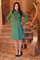Платье с воротником(хомутом)