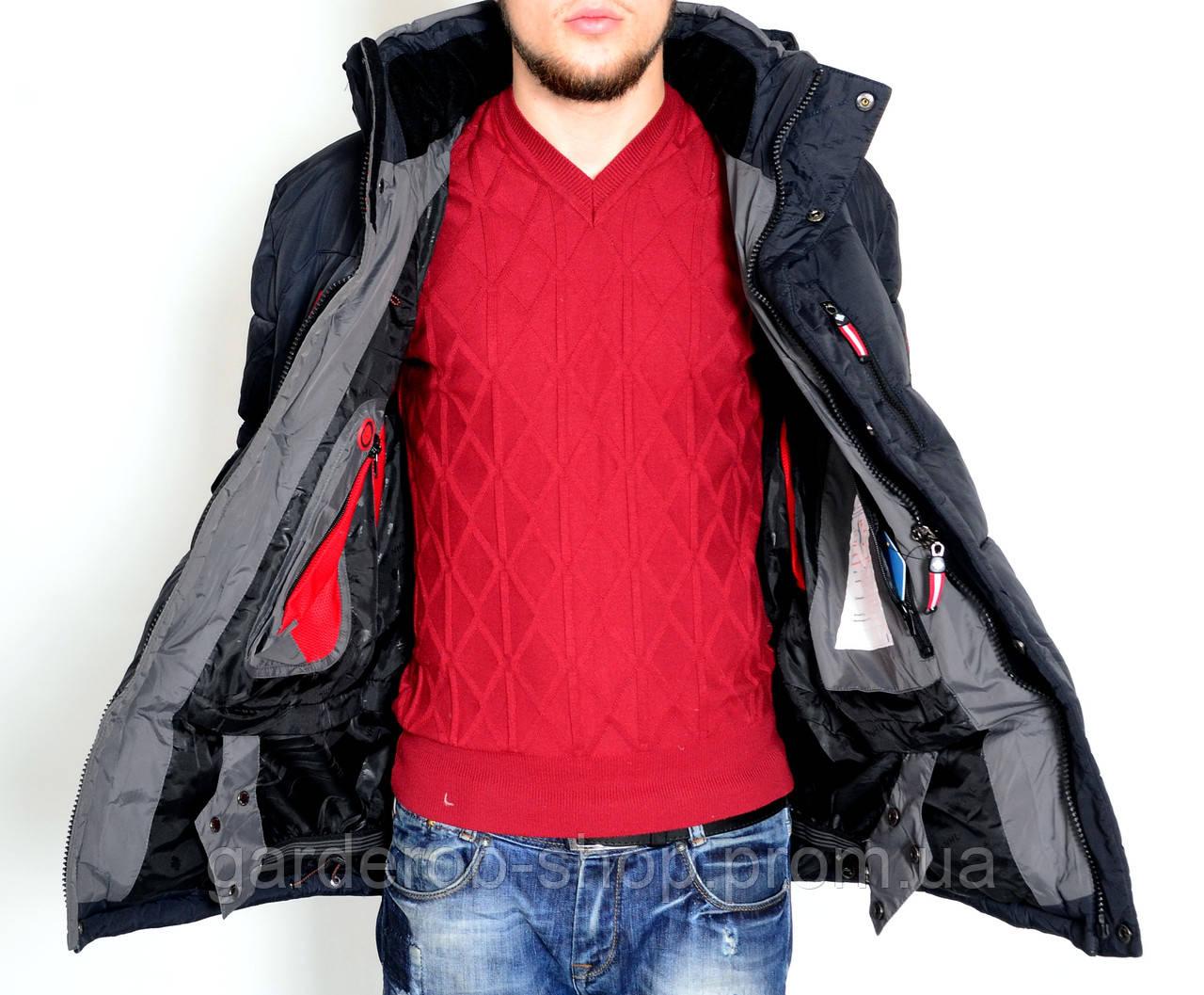 Мужская стильная одежда больших размеров