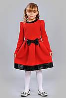 Яркое платье для девочки осень 2015