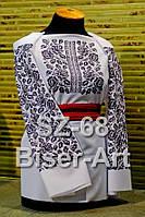 Заготовка для вишивки жіночої сорочки CZ-68 на льоні