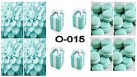 Слайдер дизайн (водная наклейка) для ногтей O-015