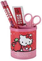 Набор настольный канцтоваров для школьника Hello Kitty HK13‑205K хелло китти красный девочке Украина Киев недорого