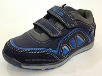 Кроссовки с синими вставками Tom.M для мальчика р-р 25,26,27,28,29,30