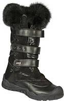 Зимние ботинки на липучках на цигейке для девочки Bartek Бартек р.р 28,29