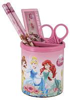 Набор  настольный канцтоваров для школьника Princess P13-205K набор подарочный,подстаканник