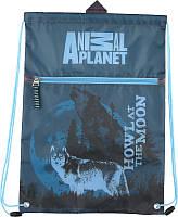 Сумка для сменной обуви спортивной  формы с доп. карманом Kite Animal Planet AP15-601K