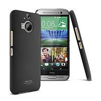 Пластиковый чехол Imak для HTC One M9 Plus чёрный