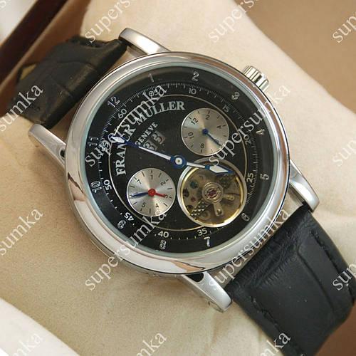 Надежные наручные часы Frank Muller Series Silver/Black 901