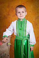 Украинская вышитая сорочка для мальчика, размер 26