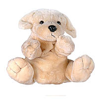 Игрушка мягкая Рукавичка собака 27 см