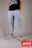 Спортивные штаны зимние мужские, женские PUNCH Jog, grey