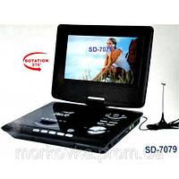 Портативный DVD проигрыватель 7 + TV SD7079, SD-7079, SD 7079,  dvd player, dvd плеер