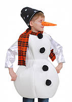 Карнавальный костюм Снеговика с морковкой