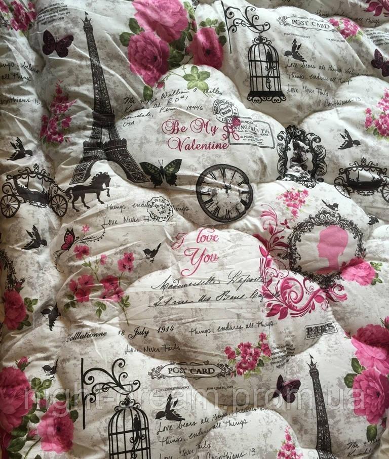 Антиаллергенное одеяло 170х210 LOTUS  COLOUR  FIBER Париж
