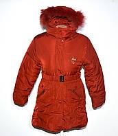 Курточка на девочку. Зима. 140-152