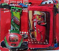 Детские наручные часы с проектором  Тачки + кошелёк