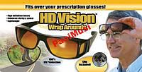 Комплект Антибликовых очков для езды автомобилем день-ночь Visor HD