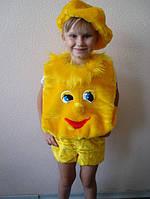 Дитячий новорічний костюм Колобка
