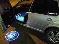 Мини лазерная проекция логотипа—на все марки авто!