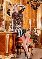 Коктейльное платье леопардовой расцветки
