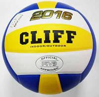 Мяч волейбольный Cliff 2016 № 5