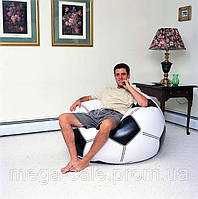 Кресло мяч надувное Bestway футбольный мяч 114х112х71см