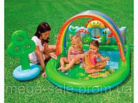 """Детский игровой центр бассейн """"Оазис"""" с фонтанчиком 155х130х84см Интекс Intex"""