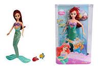 Кукла принцесса Диснея Princess Disney Ариэль с друзьями