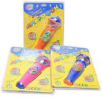 Детский караоке микрофон: 6 мелодий, песня про алфавит