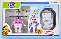 Робокар на радиоуправлении Robocar Poli (летающий робокар/летающий вертолет): Эмбер