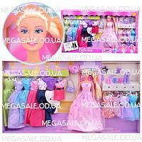 """Кукла с одеждой Defa Lucy """"Модница"""": 12 нарядов, аксессуары в комплекте"""