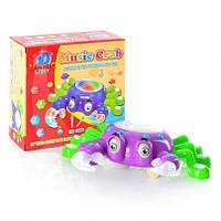 Музыкальная игрушка для детей краб