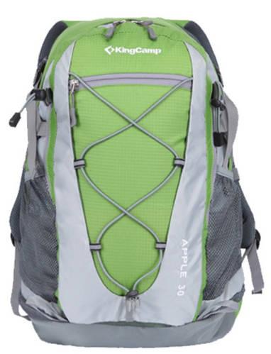 Мужской практичный походной рюкзак 30 л. KingCamp APPLE (KB3305) Green зеленый