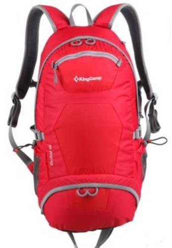 Вместительный рюкзак для путешествий 40 л. KingCamp ORCHID KB4219 (95069) красный