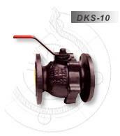 Кран шаровый фланцевый DKS DN40