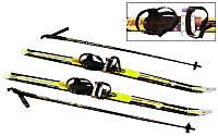 Лижі бігові в комплекті з палками і кріпленням ZEL SK-1883-140В