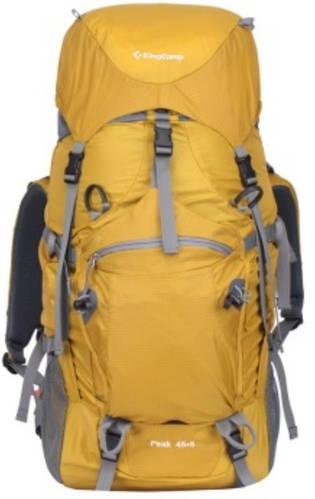 Треккинговый прочный рюкзак 45+5 л. KingCamp Peak (KB3250) Yellow желтый