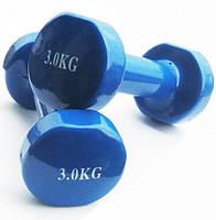 Гантели для фитнеса 3 Lb