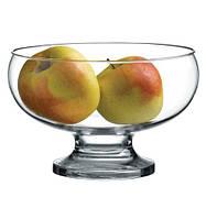 Ваза для фруктов, диам 175мм, Н117мм на ноге Collection, стекло PASABACHE Россия 41476