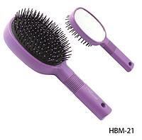 Большая расческа для волос с зеркалом Lady Victory LDV HBM-21 /03-1