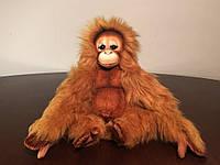 Мягкая игрушка обезьяна Орангутан детеныш HANSA 15 см