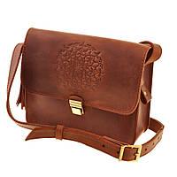Женская сумка BlankNote Лилу Коньяк
