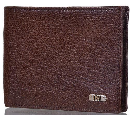 Классическое мужское портмоне из кожи WANLIMA (ВАНЛИМА) W120487504401-brown