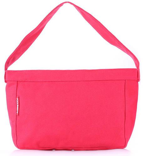 Красивая женская компактная сумка POOLPARTY pool-8-red красная
