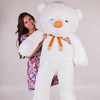 Большой медведь плюшевый ТЕДДИ 160 см белый