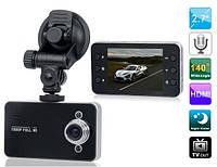 Видеорегистратор автомобильный DVR K6000 c HDMI 1080p VFX
