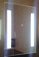 Зеркало для ванны с ЛЕД подсветкой влагостойкое 500 х 700