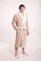 Мужской махровый халат бамбуковый Diandra Royal